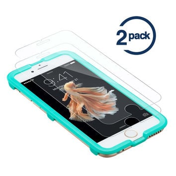 ESR 2 Pack Triple Strength Tempered Glass Screen Protector with Free Applicator for iPhone 6/6s