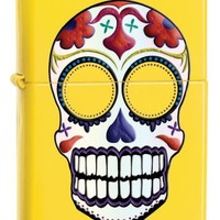 Zippo Lemon Skull Pocket Lighter