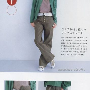 Pants De Go by Sato Watanabe - Japanese Sewing Pattern Book for Women - B228