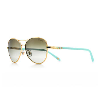 Tiffany & Co. - Tiffany Era aviator sunglasses in Tiffany Blue® acetate.