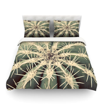 """Angie Turner """"Cactus"""" Plant Featherweight Duvet Cover"""