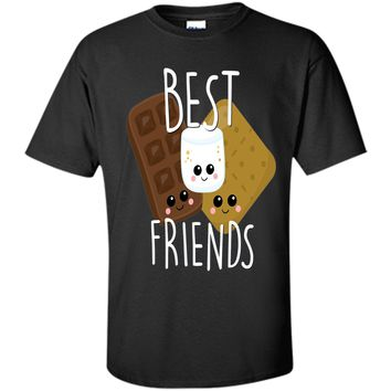 Bestie Shirt Cute Food BFF Best Friend Smores Scouts Camping