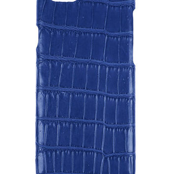 IPhone 6S+ / 6+ Case Alligator Blue