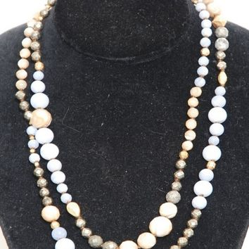Chan Luu Agate Mix Bead Necklace