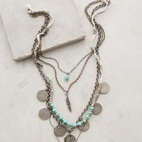 Layered Sonho Necklace by Anthropologie Gold One Size Necklaces