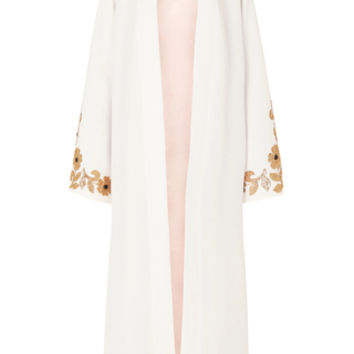 whiskey silk robe | Moda Operandi