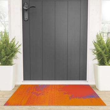 Over Cooked Welcome Mat by duckyb