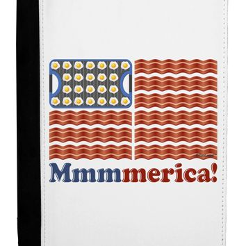 American Breakfast Flag - Bacon and Eggs - Mmmmerica Ipad Mini Fold Stand  Case by TooLoud