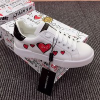 Dolce&Gabbana LEATHER PORTOFINO SNEAKERS