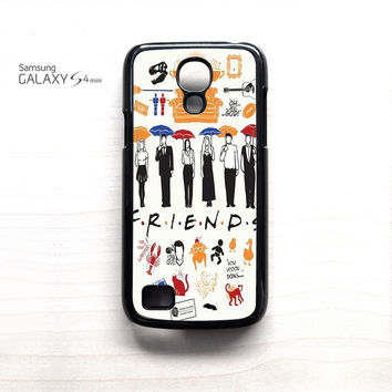Friends TV Show Collage For Samsung Galaxy Mini S3/S4/S5 Phone case ZG