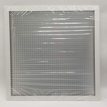 Anemostat GC5 24x24 Inches | Stainless Steel Return Grille Box of 6pcs