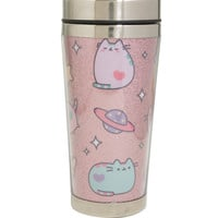 Pusheen Space Toss Glitter Travel Mug