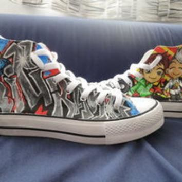 BigBang Chibi Converse Shoes