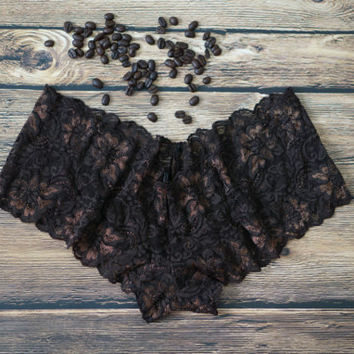 Espresso Lace Panties, Morning Espresso Panties, Espresso Gifts, Coffee Panties, Gifts for Coffee Lovers, Coffee Gifts, Morning Coffee Gifts