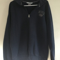 Nike Zip Collar Sweatshirt