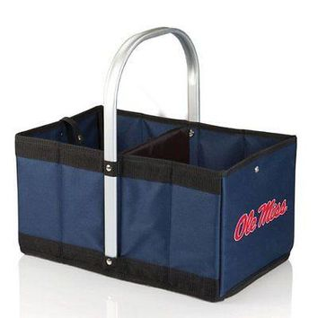 PICN-546001383740-NCAA Mississippi Ole Miss Rebels Urban Market Basket, Navy