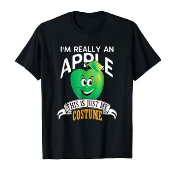 Apple Halloween Costume T-shirt This Is Just My Costume
