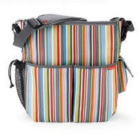 Skip Hop Duo Essential Diaper Bag, Metro Stripe