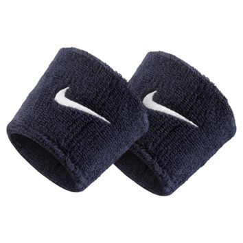 Nike Swoosh Wristbands (Blue)