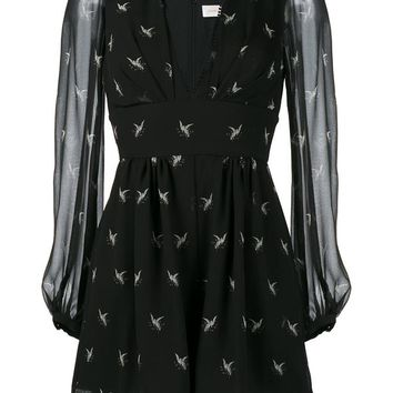 ZIMMERMANN | Master Dove Print Silk Playsuit | Womenswear | Browns Fashion