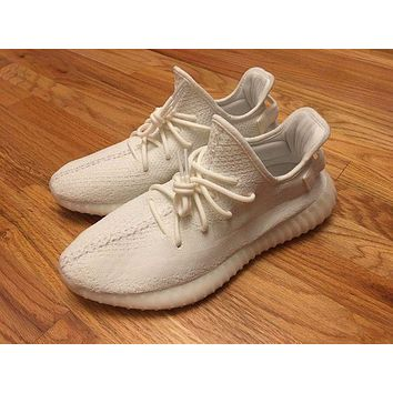 DCCK adidas Yeezy Boost 350 V2 Men's Shoes // Cream/White // US 12 // CP9366