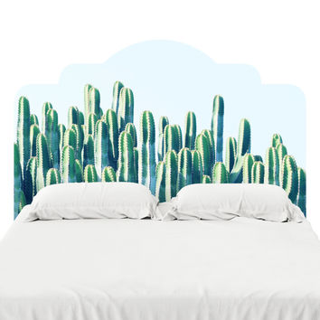 Cactus II Headboard Decal
