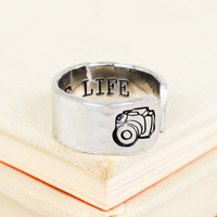 Capture Life - Photography - Adjustable Aluminum Ring