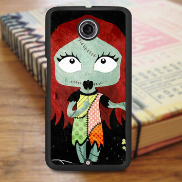 Cute Sally The Nightmare Before Christmas Nexus 6 Case