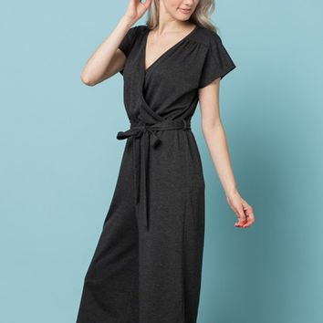 Nursing Friendly Terry Jumpsuit