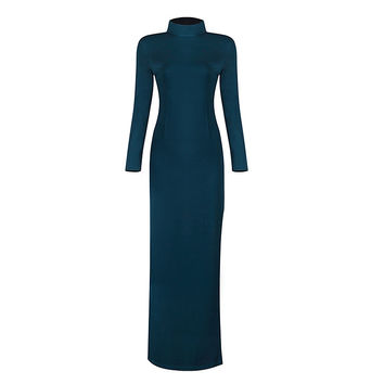 Kloss Teal Green Maxi Dress