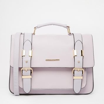 Lilac Large Satchel