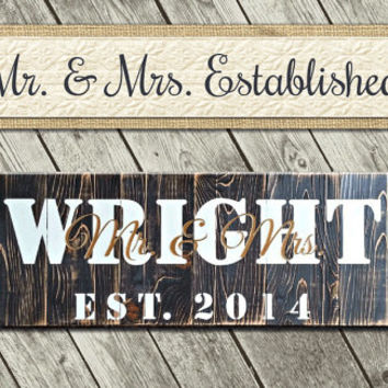 Wedding Anniversary Gift | Barn Sign | Personalized Home Sign | Beach House Sign | Personalized House Sign | Lake House Sign | Beach Decor