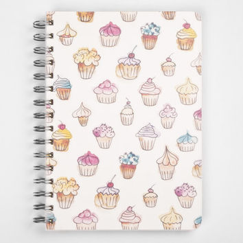 2015 Year Weekly Planner Calendar Diary Spiral A5 Cupcakes Gift sweet handmade for her - BEST Valentines GIFT!