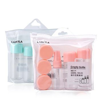 Travel Bottle Cosmetic Container Set