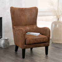 Salerno Wingback Armchair