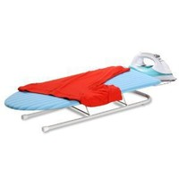 Honey-Can-Do BRD-01435 Collapsible Tabletop Ironing Board with Pull out Iron Rest