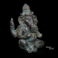 "Ganesh 4.75""Lord Of Beginnings,Lord Of Removing Obstacles,God Of Intellect&Wisdom; Success In The World. Hindu Sanskrit Enlightenment"