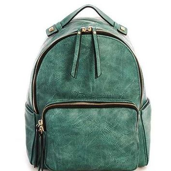 Stylish And Chic PU Leather Backpack