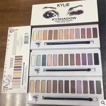 Hot Kylie 12 Color Eyeshadow Eyeshadow Kylie kyshadow cartridge Matt Keri = 1956732932