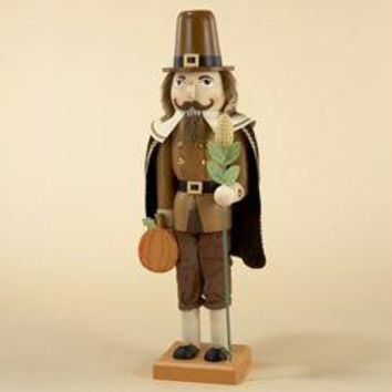 Thanksgiving Nutcracker - Pilgrim