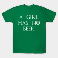 A Girl Has No Beer by scarebaby