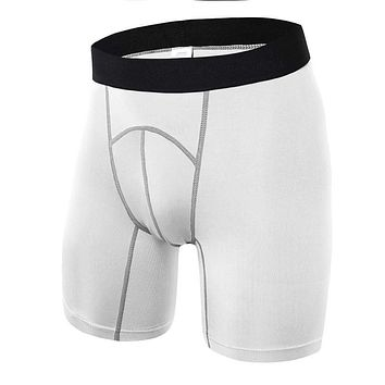 Men's Fitness-Workout Compression Shorts