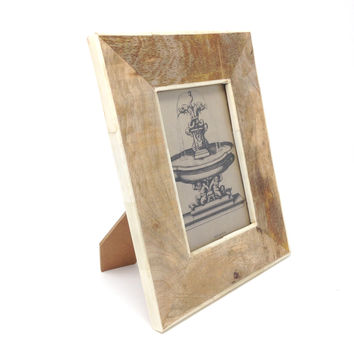 "Creative Co-Op - 4"" x 6"" Mango Wood Photo Frame"