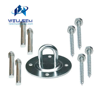 Ceiling & Wall Mount Anchor Bracket Hook for Aerial Training Straps Crossfit Olympic Rings Yoga Swings Hammocks