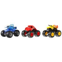 Exclusive Hot Wheels Monster Jam Creature Crushers 3-Pack, 1:64 Scale