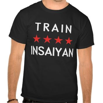 Train Insaiyan Shirts
