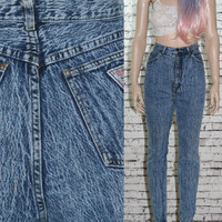90s high waist skinny jeans light acid wash grunge punk cyber goth boho pastel hipster gypsy s distressed pastel 70s