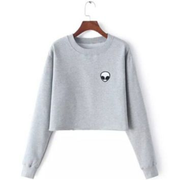 Alien Crew Neck Sweater