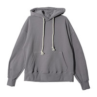 Drop Shoulder Hooded Sweatshirt (Purple) | STYLENANDA