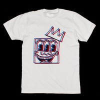 K. Haring ~ Basquiat  ~ Mashup Unisex T-shirt by American Anarchy Brand